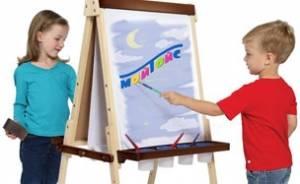 Доски для рисования, мольберты