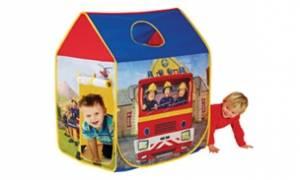 Палатки и коробки для игрушек