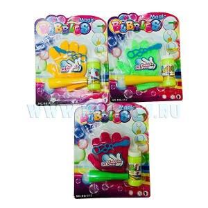 MISHA-313-12 Волшебные мыльные пузыри с перчаткой