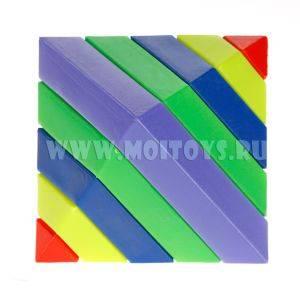 2361211 Головоломка-ромб в сетке, 18х12,5 см