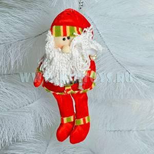 911417/1 Санта Клаус красный 22см. в пакете