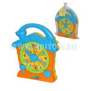 55804 Говорящие часы (в пакете)