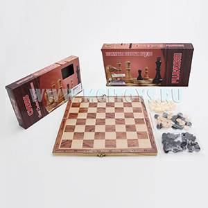1741721 Шахматы 3 в 1