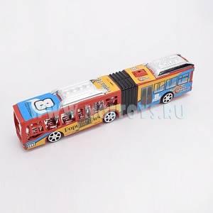 1828138 Автобус инерц. 28см