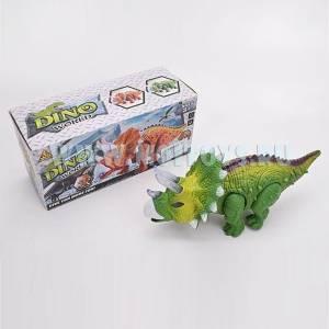 1844896 Динозавр эл.мех. 24см/кор