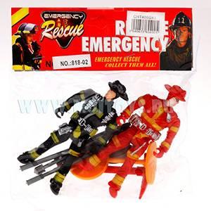406G43 Набор пожарника (фигурки) (1-2)