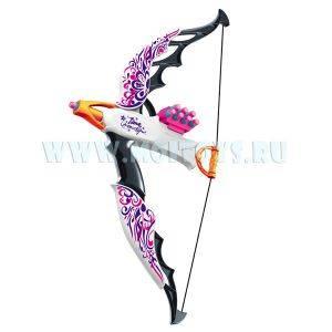 7059 Арбалет для девочек  со стрелами на присосках