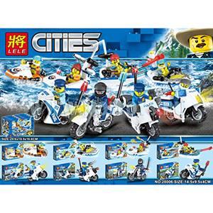 MISHA-28006 Лего сити мал.