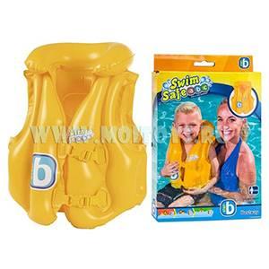 32034 Bestway Жилет для малышей желтый