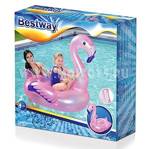 41122 Bestway Плот `Фламинго` мал.