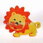 0772 Игрушка подушка `Лев`