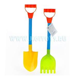 GPH135900 Песочный набор лопата и грабли (2 шт) 53 см