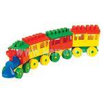 2051 Конструктор - паравоз с тремя вагонами
