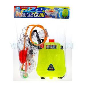 QD77377 Пистолет водн. с запаской (светящийся)