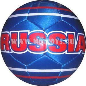 1115/AВ Мяч футбольный `RUSSIA+BRASIL`
