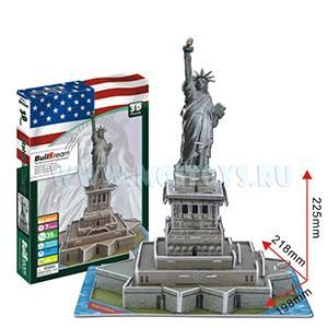 B024 3D пазл `Статуя Свободы`