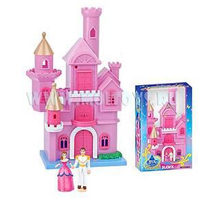 PH137124/8801 Замок с принцем и принцессой 36 см./кор.