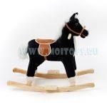 XR30201-BLACK Лошадка-качалка