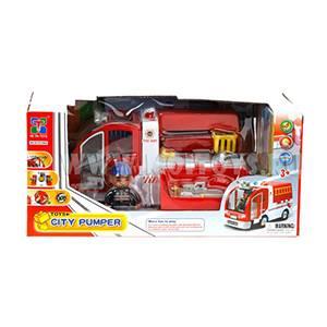 PH120691/DIY57599A Пож. машина эл. мех. со спасателями