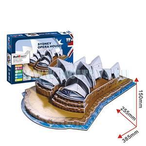 B042 3D пазл `Сиднейский оперный театр`