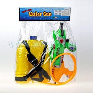 G26729 Пистолет водн. 35 см/пакет (с балонами)