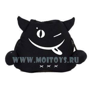 BYJ-16  Антистресс Подставка под телефон `Черт` черн..