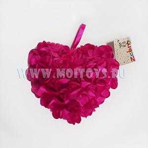 26569P Подушка `Сердце розовое` 20см