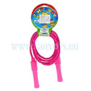 QD76012 Скакалка розовая