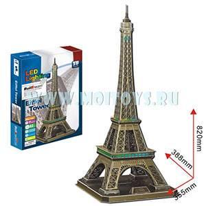 L108 3D пазл `Эйфелева Башня` с подсветкой
