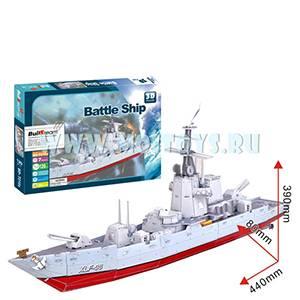 T016S 3D пазл `Военный корабль`